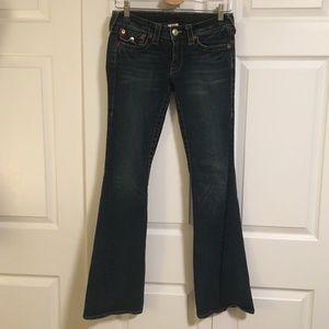 True Religion Joey Twisted Seam Jeans Size 28